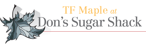 TF Maple at Don's Sugar Shack Logo