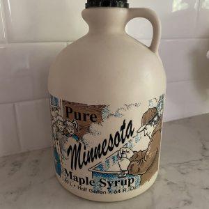 Gallon plastic jug - Minnesota label