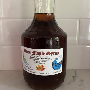 Glass Decantur Maple Syrup